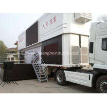 Two Decks Product Advertising Mobile Stage