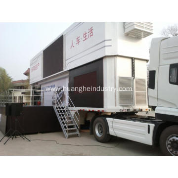 Two Stories Product Demonstration Stage Truck