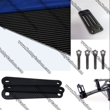 3K Carbon Fiber Plate CNC Cutting Parts