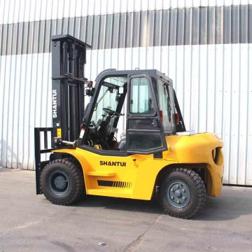New Side Shift 5T Forklift with Enclosed Cab