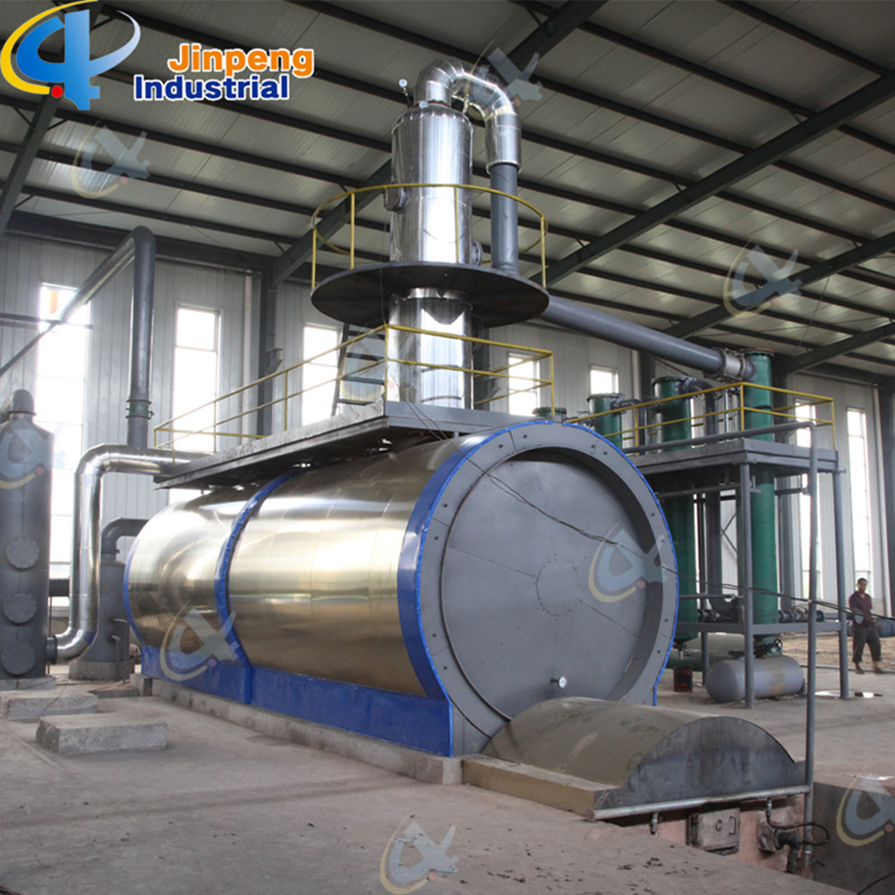 Plastic Oil Distillation Equipment to Diesel Oil