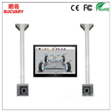 Ceiling-mounted 3D Wheel Alignment