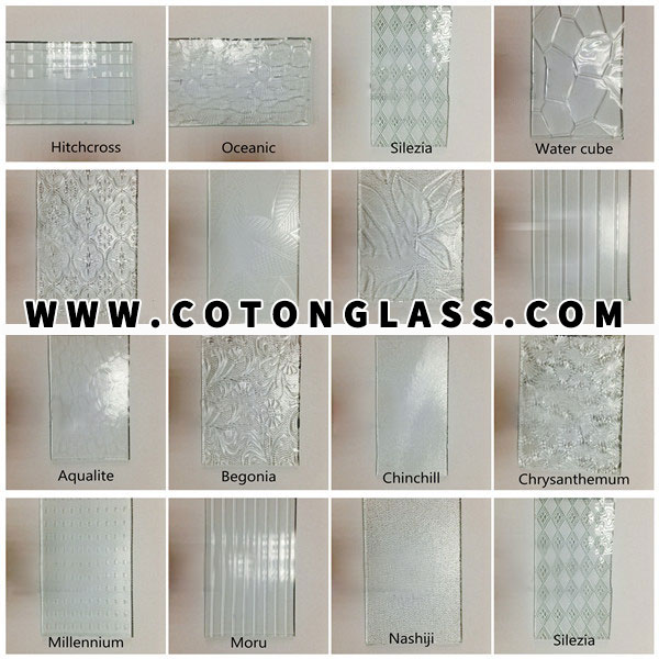 Obscure Window Glass Patterns