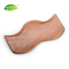 Food Grade Wave Acacia Wood Plate