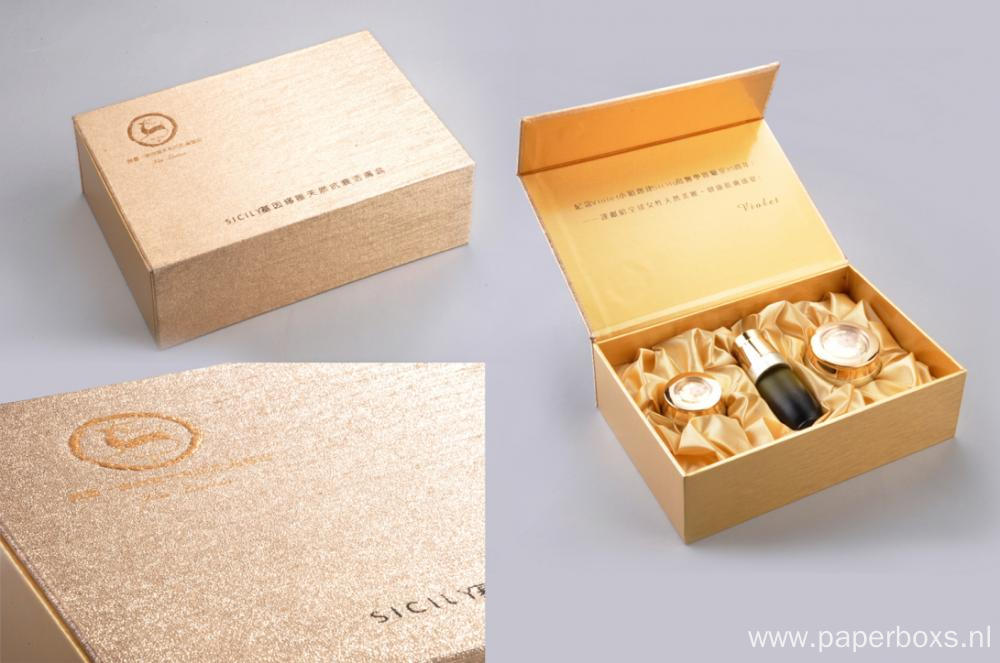 Luxury Custom Printing Face Cream Book Shape Box