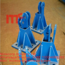 Leading for potain L68B2 Foundation foot for tower crane mast section L69c export to Slovenia Suppliers