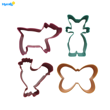 Stainless Steel Fall Thanksgiving Pig Cookie Cutters