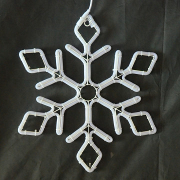Led rope light Wide Starburst Snowflake