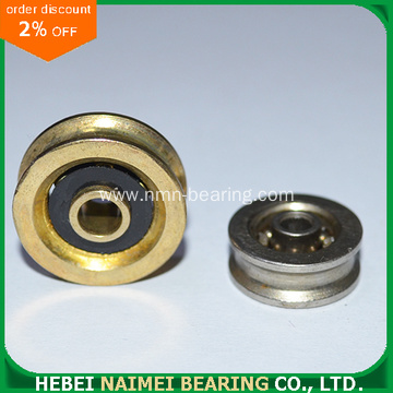 Brass Coated Carbon Ball Bearing Pulley