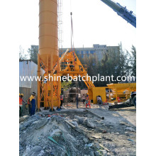China for 25 Concrete Plant Concrete Mixer Equipment No Foundation supply to Slovakia (Slovak Republic) Factory