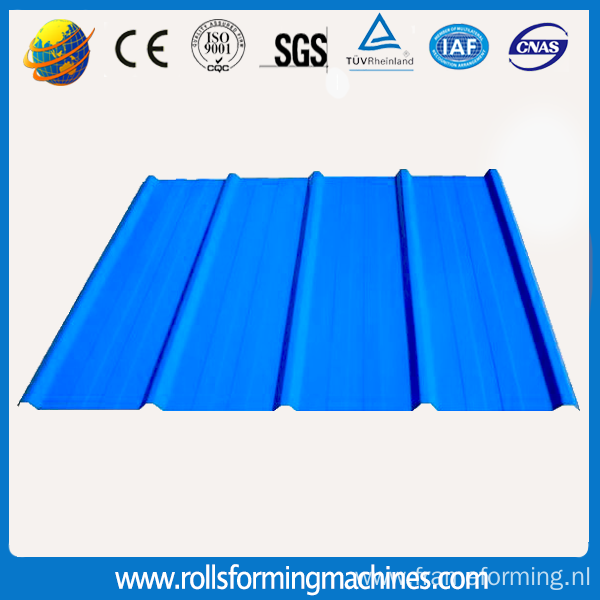 Galvanized Aluminium Metal Roof Tile Roll Forming Machine