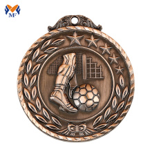 Good User Reputation for Sports Medal Design fantasy country flag custom football medals export to Gibraltar Wholesale