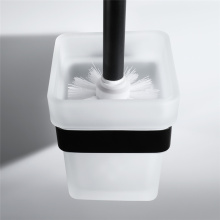 HIDEEP Stainless Steel Bathroom Black Toilet Brush Holder