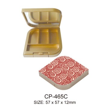 Plastic Empty Cosmetic Eyeshadow Case