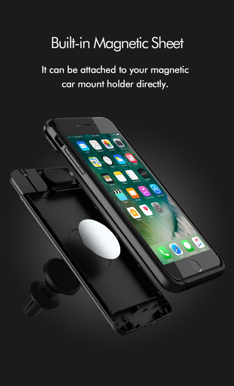 Multi Function Phone Battery Case For Iphone 7 8 13