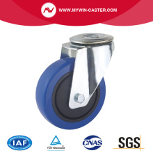 Bolt Hole Europe Type Industrial Caster Rubber Wheel