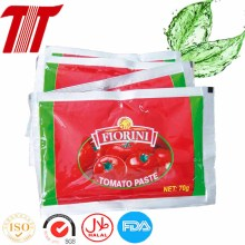 Europe style for Organic Tomato Paste 50g Pouch Tomato Paste supply to United States Factories