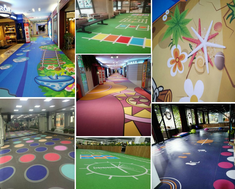 Customized Vinyl Printed Flooring