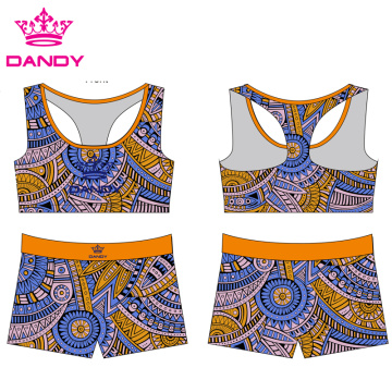 Ҳабибӣ чопи Cheerleader Sublimation Apparel