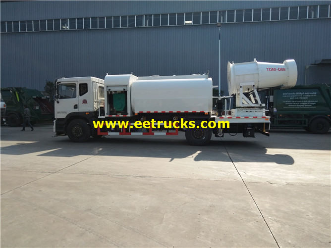 Water Truck With Dust Suppression