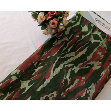 Abstract Flower Design Mattress Polyester Fabric