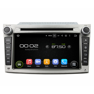 OEM Android 7 Inch Car DVD Player барои Subaru Legacy / хуруҷ