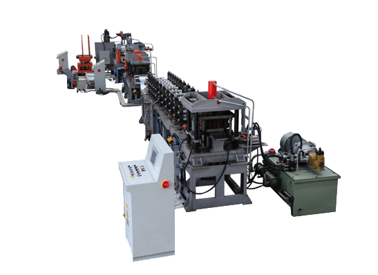 Steel Shelf Baseplate Roll Forming Machine