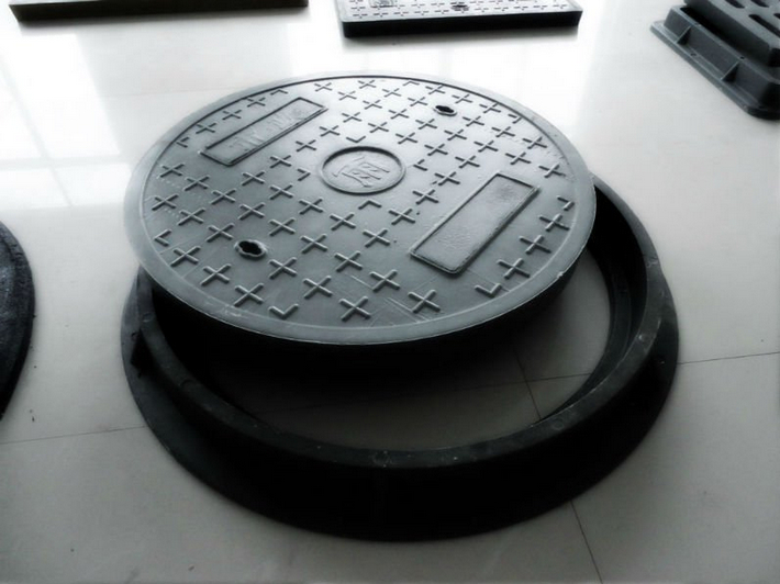 Plastic Composite Manhole Covers For Roadway