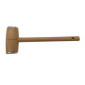 Wooden Meat Tenderizer with Double Side Aluminum Mallet