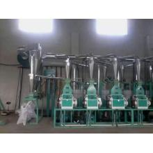 Bottom price for Automatic Flour Machine Equipment 6F fully automatic flour mill export to Cape Verde Importers