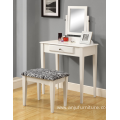 Vanity Dressing table with Mirror and Stool
