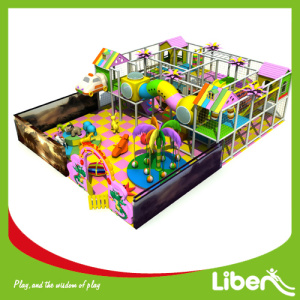 Low price for Plastic Indoor Playground, Soft Indoor Play | Candy Land Themed Indoor Playground Equipment Kids inside playground game supply to Oman Manufacturer