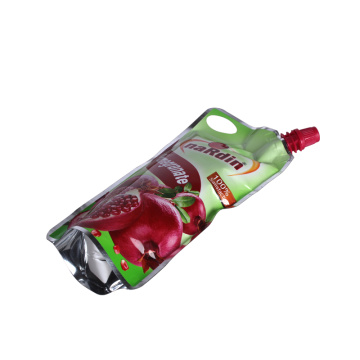 Customized Spout Pouch with Handle for Beverage
