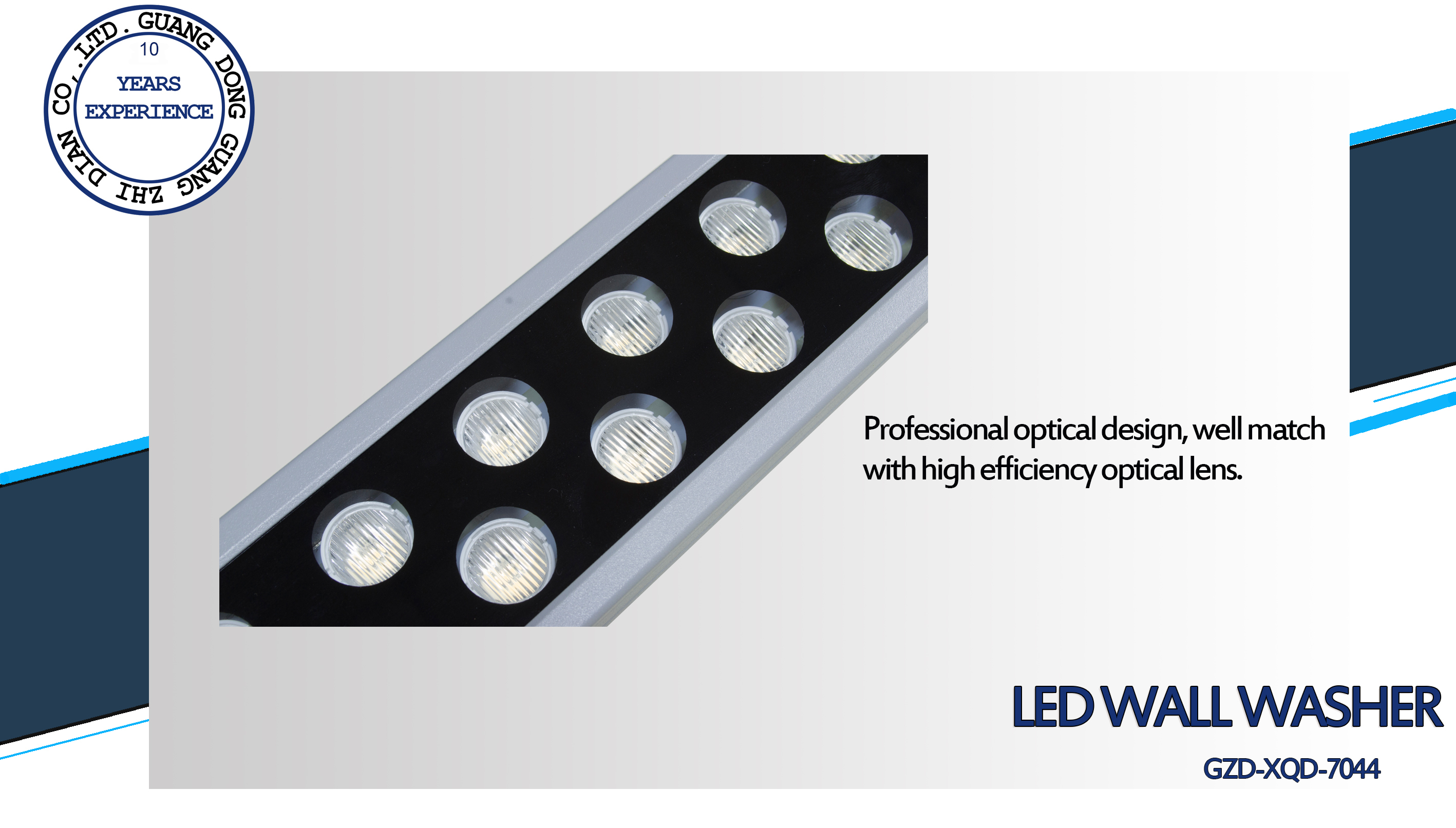 3 led wall washer
