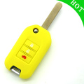 Colorful car key cover for Honda Civic