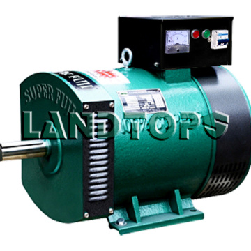 Wholesale Price China for China ST Series Single Phase Alternator,Single Phase AC Generator,Single Phase Ac Dynamo Supplier LANDTOP ST-5kw Single Phase Alternator 220v 5kw export to India Factory