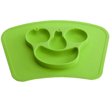 silicone placemat one piece for kids