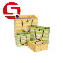 China OEM for China Paper Shopping Bags, Custom Paper Bags, Coloured Paper Bags With Handles Factory Paper shopping bags with handles wholesale export to United States Manufacturer