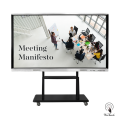 86 Inches Touch Screen Display with mobile stand