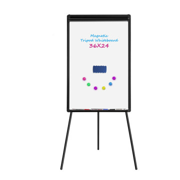 Office tripod flipchart dry erase magnetic white board