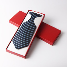 Paper packaging box for tie