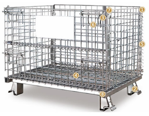 Warehouse Wire Container