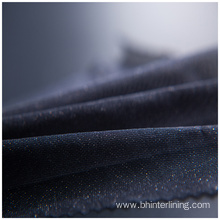 Polyester Thermal bonded coating woven fusible fabric