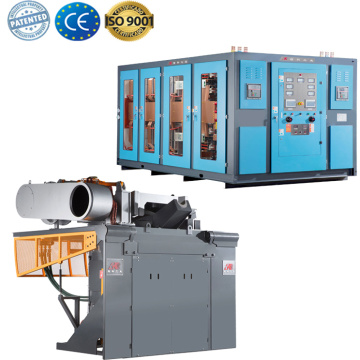Mini cast iron electric metal melting furnace