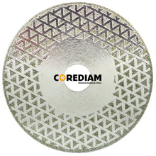 Two Sides Coated Starred Diamond Saw Blade