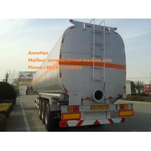 fuel tank trailer of sinotruk cimc