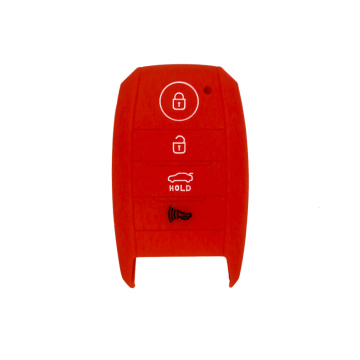Best Quality for Kia Silicone Key Case Kia K5 smart silicon car key cover supply to France Exporter
