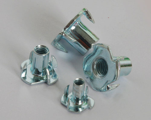 Stamped Carbon Steel Locking T Nuts