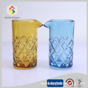 Cheapest Factory for Glass Carafe wholesale handmade 500ml cocktail mixing glass supply to Martinique Manufacturers