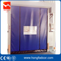 Diri memperbaiki PVC Curtain High Speed ​​Rolling Door